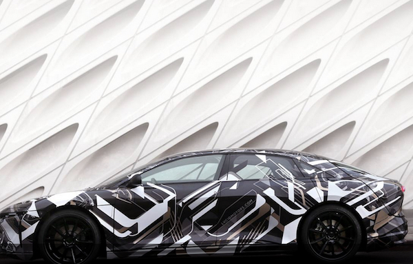 Lucid motors Air 986bhp electric saloon revealed